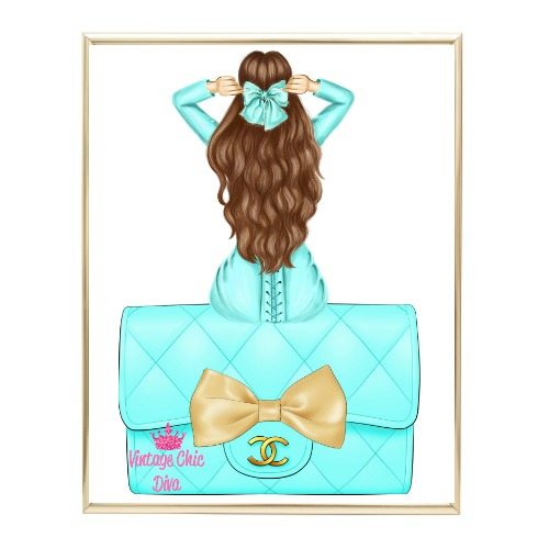 Aqua Glam Fashion Girl Set21 Wh Bg-