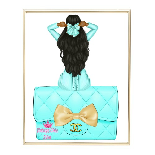 Aqua Glam Fashion Girl Set25 Wh Bg-