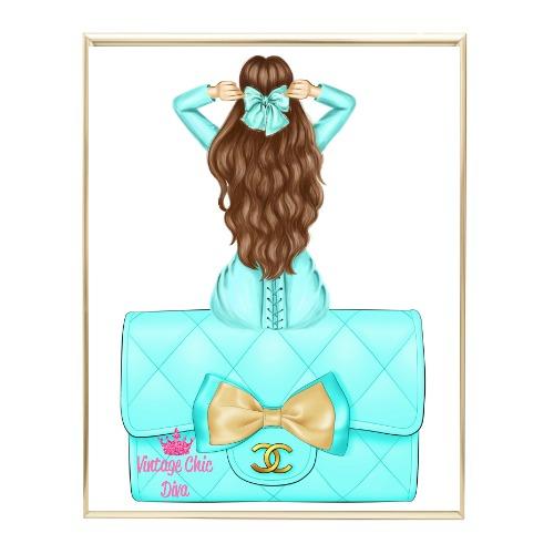 Aqua Glam Fashion Girl Set26 Wh Bg-