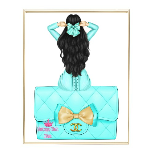 Aqua Glam Fashion Girl Set27 Wh Bg-