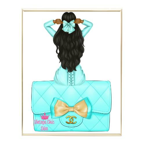 Aqua Glam Fashion Girl Set30 Wh Bg-