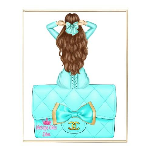 Aqua Glam Fashion Girl Set31 Wh Bg-