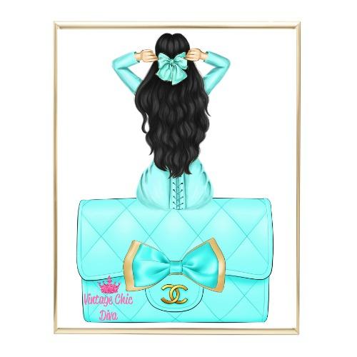 Aqua Glam Fashion Girl Set32 Wh Bg-