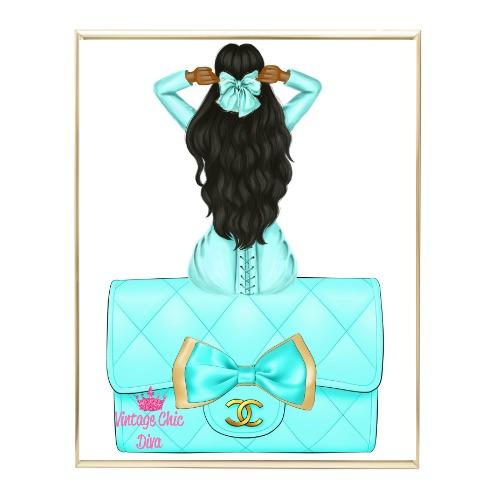 Aqua Glam Fashion Girl Set35 Wh Bg-