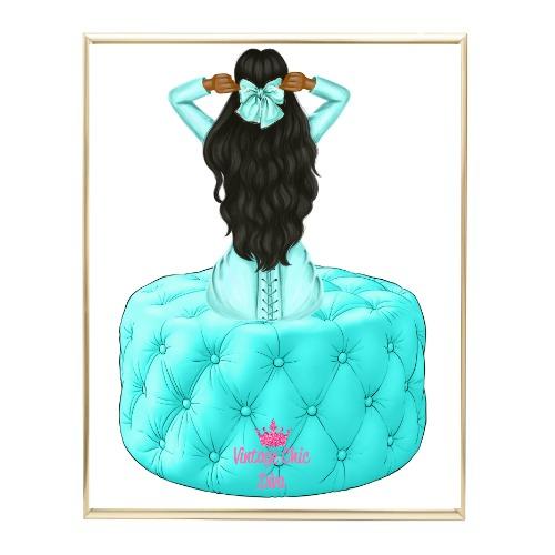 Aqua Glam Fashion Girl Set5 Wh Bg-