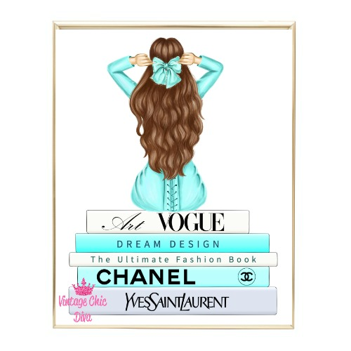 Aqua Glam Fashion Girl Set6 Wh Bg-