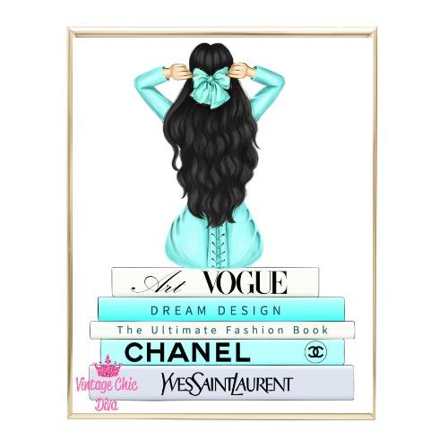 Aqua Glam Fashion Girl Set7 Wh Bg-