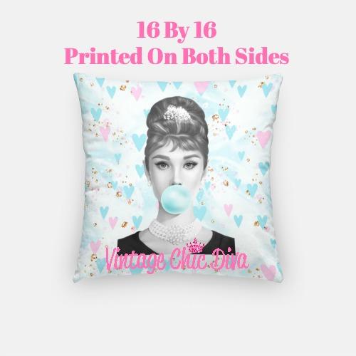 Audrey Bubblegum10 Pillow Case-