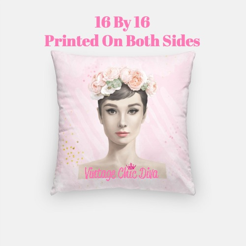 Audrey Flowers4 Pillow Case-