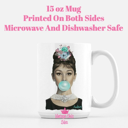 Audrey Hepburn Coffee Mug-