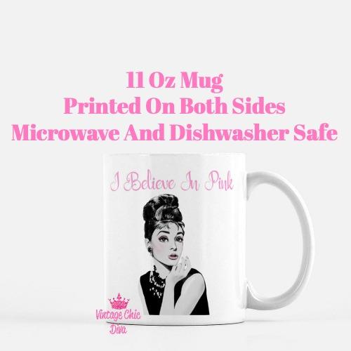 Audrey Hepburn Pink5 Coffee Mug-