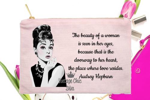 Audrey Hepburn Quote2 Pink-