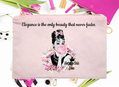 Audrey Hepburn Quote3 Pink-