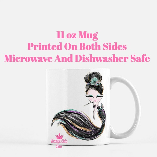 Audrey Mermaid10 Coffee Mug-