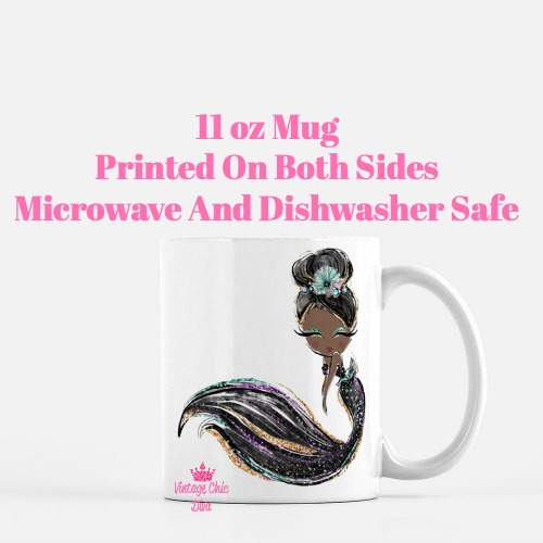 Audrey Mermaid13 Coffee Mug-