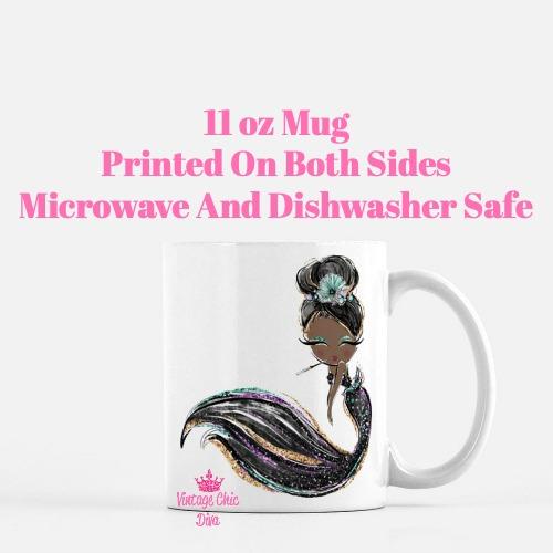 Audrey Mermaid14 Coffee Mug-