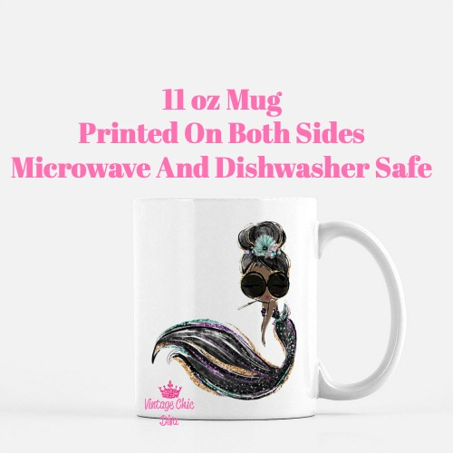 Audrey Mermaid15 Coffee Mug-