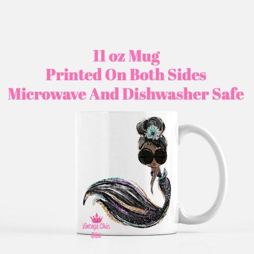 Audrey Mermaid16 Coffee Mug-