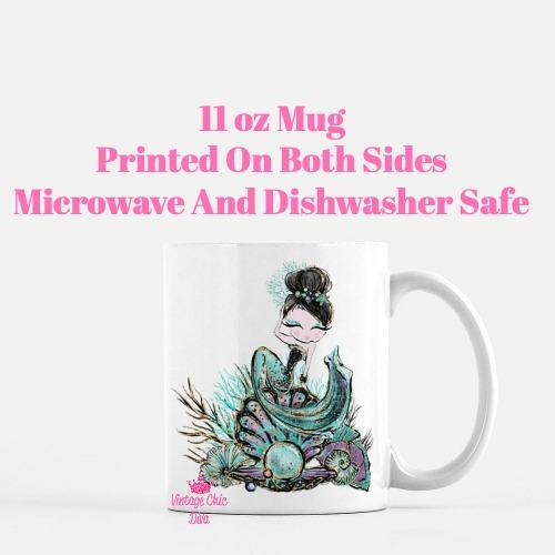 Audrey Mermaid17 Coffee Mug-