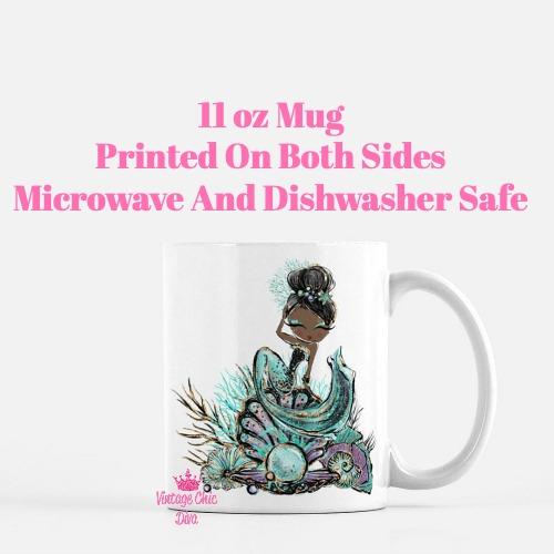 Audrey Mermaid18 Coffee Mug-