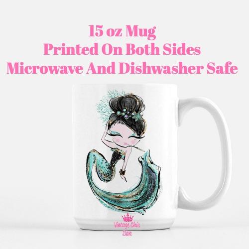 Audrey Mermaid2 Coffee Mug-