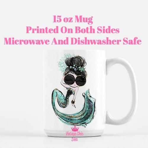 Audrey Mermaid4 Coffee Mug-