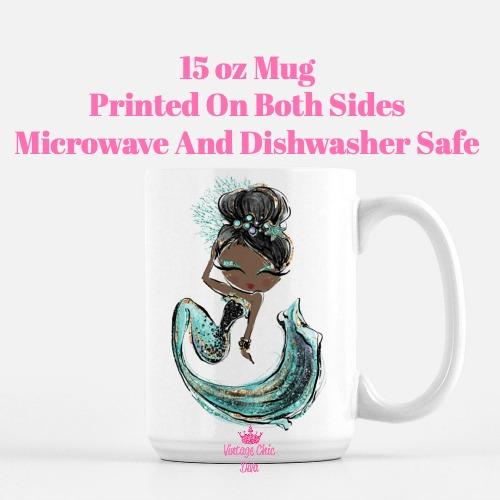 Audrey Mermaid5 Coffee Mug-