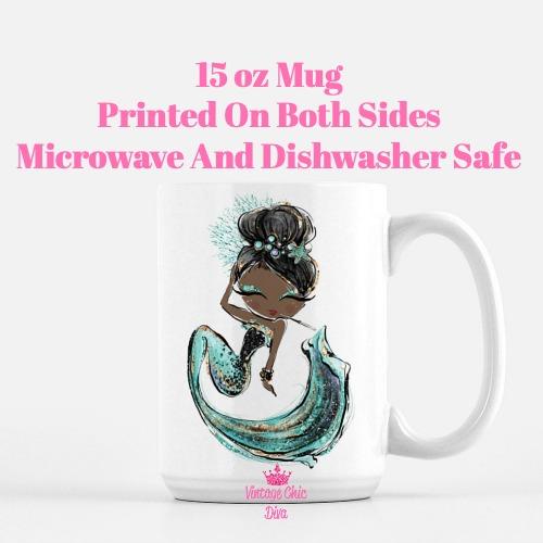 Audrey Mermaid6 Coffee Mug-