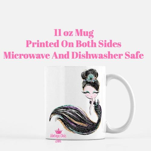 Audrey Mermaid9 Coffee Mug-