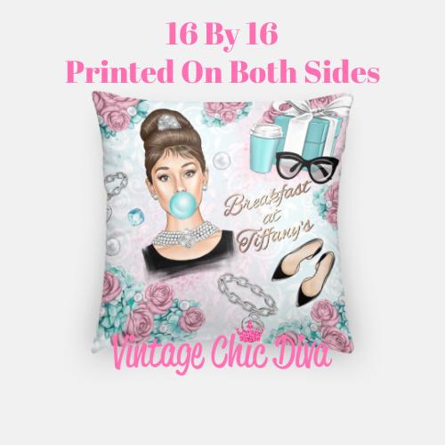 Audrey Set3 Pillow Case-