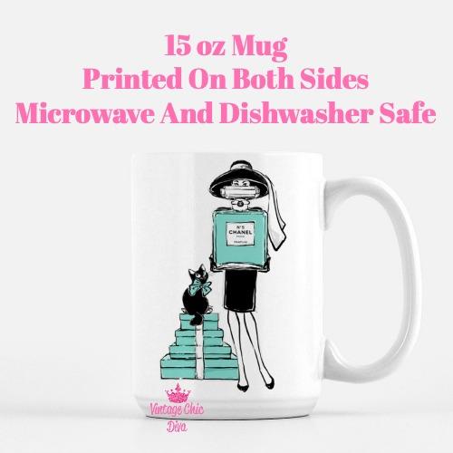 Audrey Tiffany4 Coffee Mug-