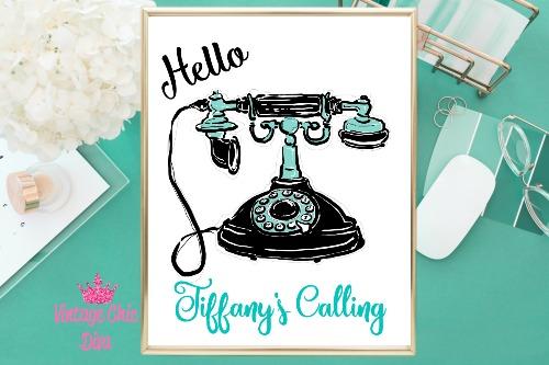 Audrey Tiffany's Calling White Background-