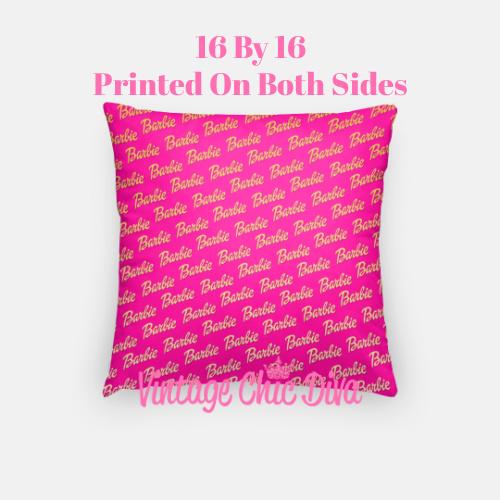 Barbie10 Pillow Case-