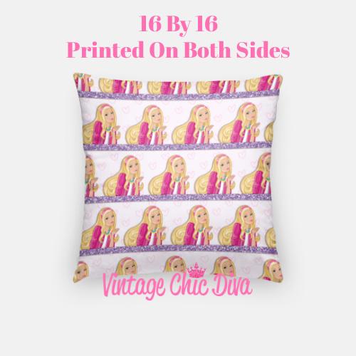 Barbie1 Pillow Case-