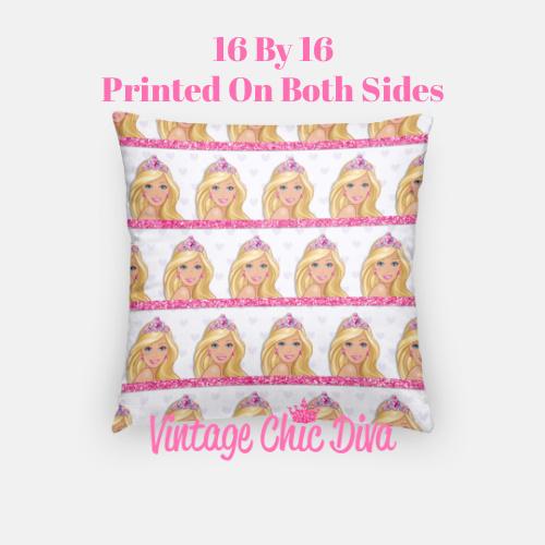 Barbie2 Pillow Case-