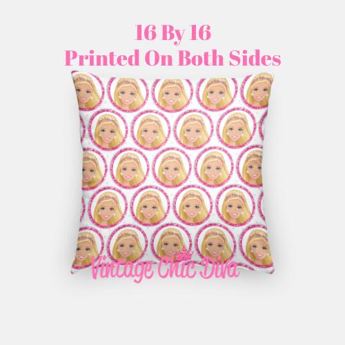 Barbie3 Pillow Case-