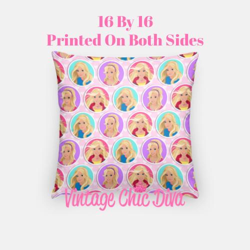 Barbie5 Pillow Case-