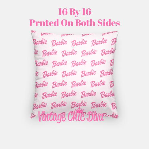 Barbie6 Pillow Case-