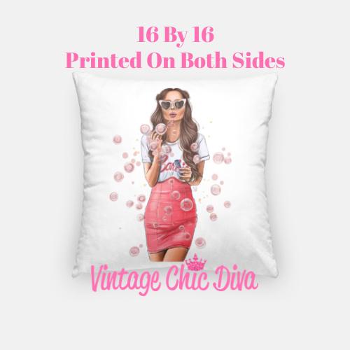 Barbie Fashion Girl2 Pillow Case-