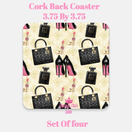 Beauty Fashion18 Coaster-