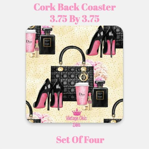 Beauty Fashion1 Coaster-