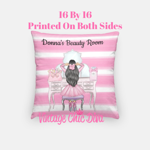 Beauty Room Girl12 Pillow Case-