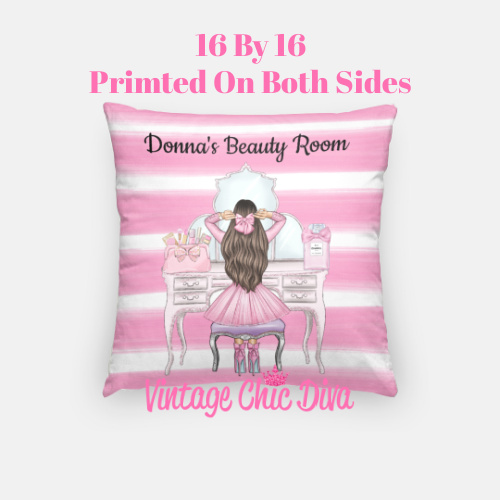 Beauty Room Girl13 Pillow Case-