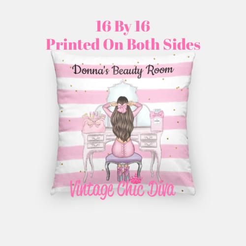 Beauty Room Girl18 Pillow Case-