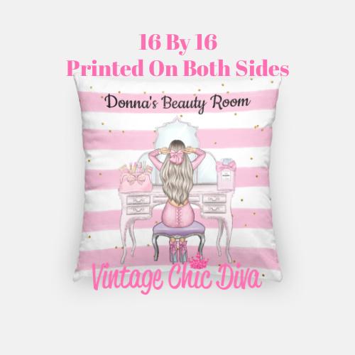 Beauty Room Girl19 Pillow Case-