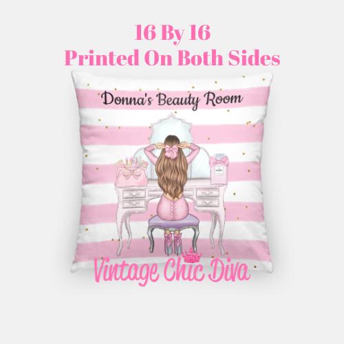 Beauty Room Girl20 Pillow Case-