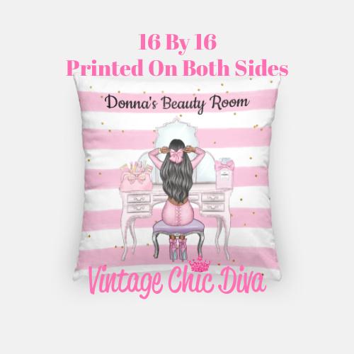 Beauty Room Girl21 Pillow Case-