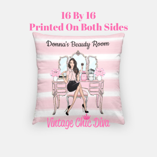 Beauty Room Girl5 Pillow Case-