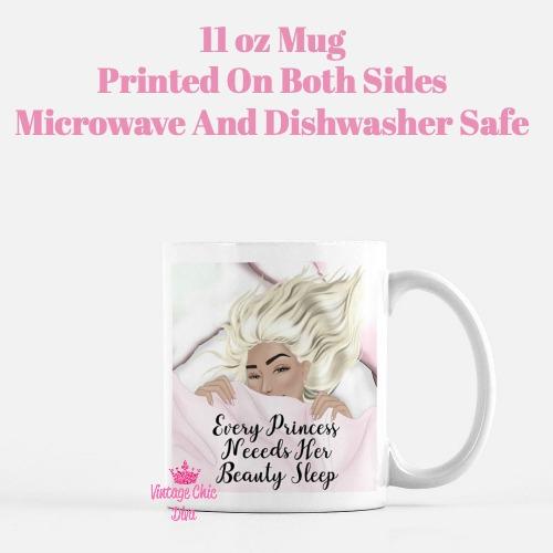 Beauty Sleep Girl1 Coffee Mug-