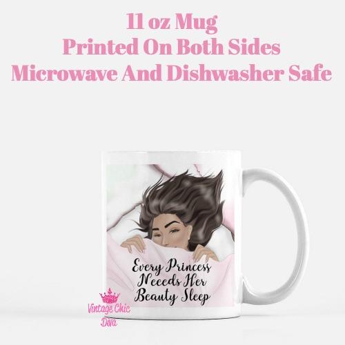 Beauty Sleep Girl2 Coffee Mug-